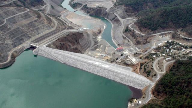 Dalaman Akköprü Barajından milli ekonomiye 'dev' katkı