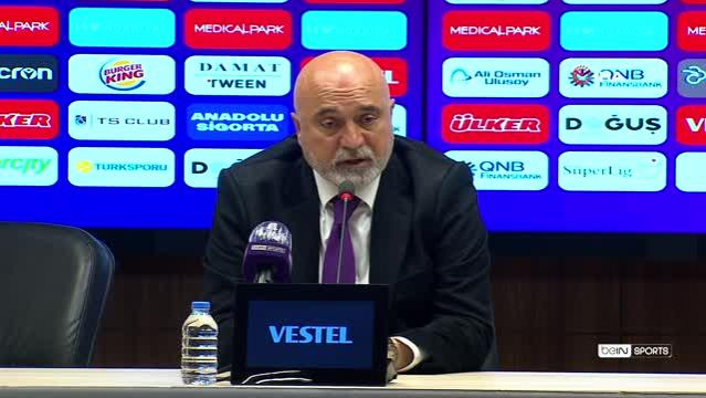 Hikmet Karaman: Bu maçtan ders çıkaracağımız önemli pozisyonlar var