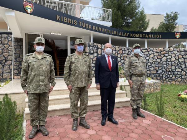 Son dakika dünya: KKTC Cumhurbaşkanı Tatar: Türk askeri Ada'dan bir daha gitmeyecek