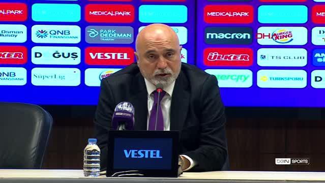 Trabzonspor - MKE Ankaragücü maçının ardından - Abdullah Avcı (2)